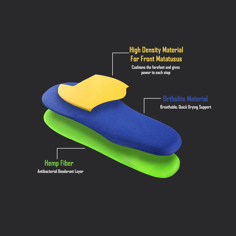 Smart Running Shoe Insole Composition