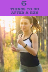 6 Post Run Habits to reduce running injuries
