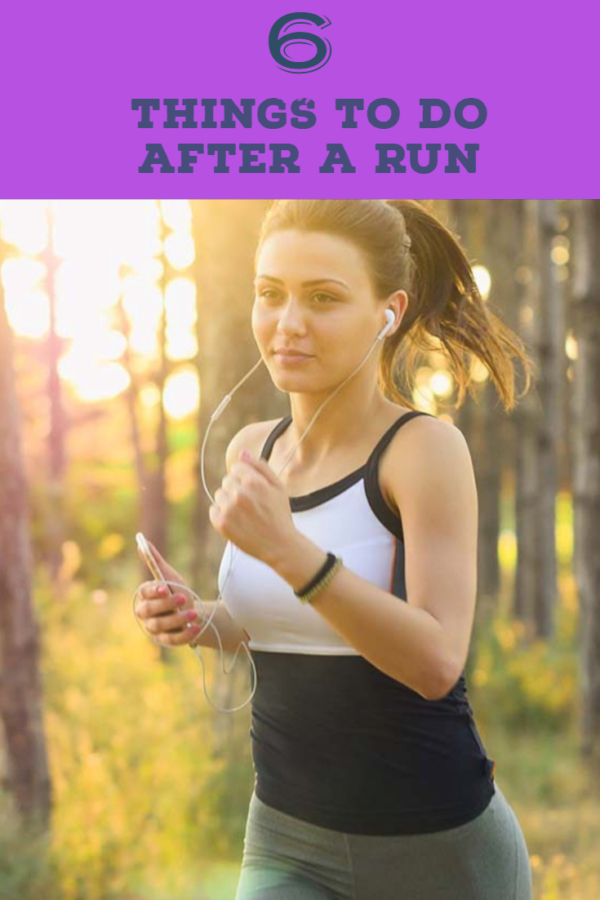6 Post Run Habits