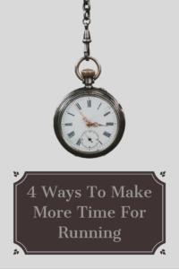 Make Time For Running